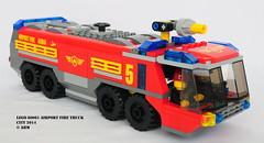 Lego City 60061 Airport Fire Truck (KatanaZ) Tags: city lego minifigs minifigures airportfiretruck lego60061