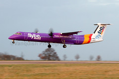 G-JECF Flybe Dash8-Q400 East Midlands (Vanquish-Photography) Tags: canon photography eos ryan aviation railway taylor 7d vanquish vanquishphotography