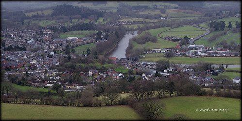 Builth Wells and the River Wye
