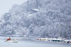 (Paqueretteman) Tags: winter snow annecy alpes canon landscape hiver lac neige paysage 6d 70200mm