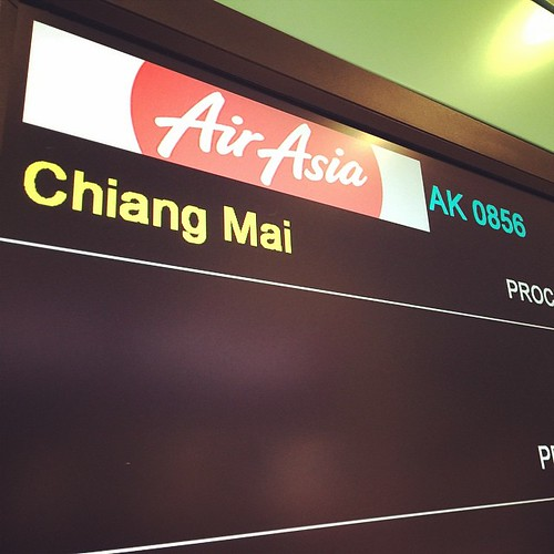 Next stop Chiang Mai Thailand :D @airasia #excited :D