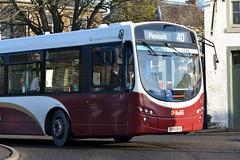 167 (Callum's Buses & Stuff) Tags: bus buses edinburgh lothian eclips madder lothianbuses edinburghbus lothianbus eskbank b7rle madderandwhite madderwhite sn58byu busesedinburgh whiteb7rle buseslothianbuses