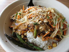 Shophouse Rice Bowl (Mr.TinDC) Tags: food chicken vegetables lunch ride rice bowl foodporn dcist greenbeans veggies shophouse fastcasual