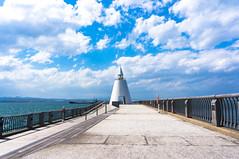 The North (AEDI Inc.) Tags: travel sea lighthouse japan port north aomori breakwater