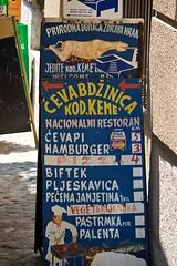 Sarajevo (tm-tm) Tags: sign europe sarajevo bosnia signage v10 bosna bosniaandherzegovina bosnaihercegovina