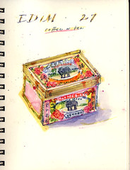 EDM, Day 27 (Sherry Schmidt) Tags: stilllife food elephant art watercolor painting paper sketch tea chinese sketchbook watercolour edm everydayinmay