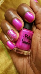 Pretty Serious  - The Pink One. (NailPolishDude23) Tags: pink girl femme mani nails manicure gurl genderbender naillaquer malehand prettyserious sexyfingers malemanicure