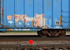 BIZONE, Byrd, Neenah, 7 May 16 (kkaf) Tags: graffiti byrd neenah bizone