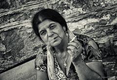 Gipsy portrait... (Ipapanti Tomara) Tags: street portrait people blackandwhite bw white black monochrome photography pentax streetphotography gypsy gipsy