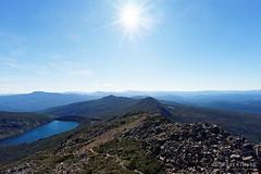 20160424-44-Hartz Lake from Hartz Peak (Roger T Wong) Tags: trek outdoors nationalpark walk australia hike scree tasmania bushwalk tramp 2016 dolerite hartzpeak hartzmountainsnationalpark sony1635 rogertwong sel1635z sonya7ii sonyilce7m2 sonyalpha7ii sonyfe1635mmf4zaosscarlzeissvariotessart lakehartz