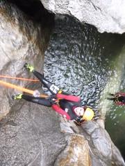 P1120383 (Mountain Sports Alpinschule) Tags: blue mountain sports lagoon canyoning zillertal zemmschlucht alpinschule