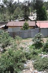 Graffiti (My photos live here) Tags: africa city urban house building wall canon eos graffiti iron capital ethiopia addis corrugated slum ababa 1000d