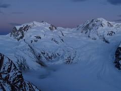 Monte Rosa afterglow (lvalgaerts) Tags: sunset snow mountains alps clouds landscape schweiz switzerland spring rosa glacier gornergrat zermatt matterhorn monte gletscher dufour afterglow cervino gorner