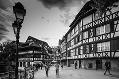 La maison des tanneurs  Strasbourg. (Bouhsina Photography) Tags: street bw white black france building canon square place facades strasbourg alsace rue bois batiment tanneurs bouhsina ef163528ii 5diii bouhsinaphotography