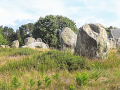 Carnac (m-g-c photographie) Tags: old france nature rock stone landscape roc photo brittany europe outdoor ngc bretagne breizh mgc rocher roche ancien alignment carnac dehors alignement menhir exterieur alignementdecarnac extrieur alignmentofcarnac