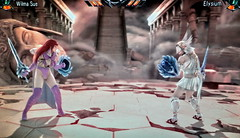 Battle_Wilma Sue vs Elysium in Soulcalibur V03435 (Cliffather) Tags: videogame namco soulcalibur fightinggame virtualgirl ps3game