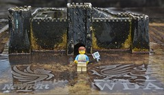 Mini-Me in the Rain (Charles Dawson) Tags: lego newport
