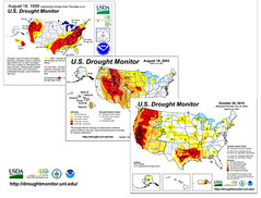 US Drought Monitor chart evolution (USDAgov) Tags: water whitehouse tools drought unitednations data climatechange oce adaptation resilience worldwaterday partnerships nationaldroughtmonitor