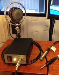 A Mic of Constant Sorrow, part IV (Solarbird) Tags: maker homerecording homestudio diyaudio carbonmicrophone telephonemicrophone carbonmic telephonemic makeraudio handsetmicrophone