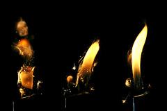 toninoooooooooo! (brescia, italy) (bloodybee) Tags: 365project fire flame light lighter yellow black hot macro spark