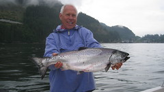 "Mike Hansell with 15lb Chinook Salmon • <a style=""font-size:0.8em;"" href=""http://www.flickr.com/photos/113772263@N05/27229420282/"" target=""_blank"">View on Flickr</a>"