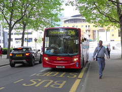 Go Ahead Docklands Buses ADL Enviro 200 SE135 YX61BWL on the Isle of Dogs (Mark Bowerbank) Tags: dogs buses ahead go 200 docklands isle enviro adl se135 yx61bwl