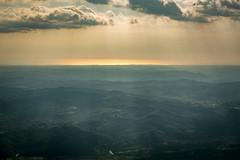 View from the Ucka Mountain (Sormanns) Tags: sea sunlight mountain nikon meer view croatia berge rays aussicht sonne istria kroatien sonnenlicht istrien ucka d7100 sormannphotography