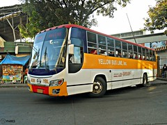 Yellow Bus Line 408 (Monkey D. Luffy 2) Tags: road city bus public photography photo nikon philippines transport ve vehicles transportation coolpix vehicle society hino davao rk philippine grandeza enthusiasts ecoland philbes rk1jst rk1jmt rk1jstl