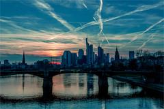 Frankfurt am main 2016 (zilverbat.) Tags: sunset sky urban germany deutschland freestyle image frankfurt visit stedelijk bild stad duitsland tripadvisor zilverbat