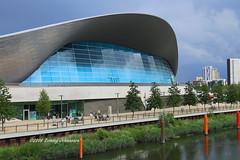 The Aquatic Centre (tommyajohansson) Tags: london stratford queenelizabetholympicpark olympicpark london2012 tommyajohansson geotagged faved