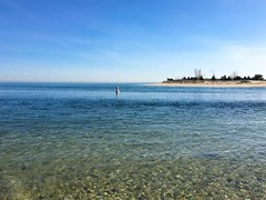 The Nissequoge River meets the Long Island Sound (Matt McGrath Photography) Tags: newyork beach water unitedstates longisland northshore kingspark longislandsound sunkenmeadowstatepark nissequogeriver