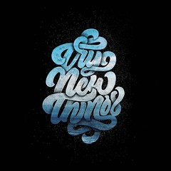 Try new things (inspiration_de) Tags: beach illustration typography design brush type handlettering