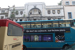 "A welcome sight.       ""The Futurist is not a threat to public safety."" (philipgmayer) Tags: cinema liverpool limestreet futurist picturehouse"