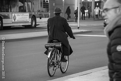 The Milanese Lawyer (onemoregeorge.frames) Tags: street november blackandwhite italy monochrome bike photography nikon milano omg 2015 d40x onemoregeorge