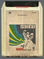 """1972 - Portinho e sua Orquestra / Samba, O Melhor do Brasil - 8 track - fita cartucho de 8 pistas (""""The Brazilian 8 Track Museum"""") Tags: music vintage samba collection tape brazilian cartridge alceu massini"""