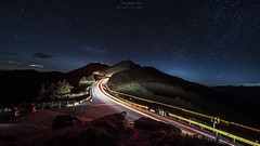 DSC_1967 (crazytony55) Tags: lightpainting stars nikon taiwan  nightview    nantou  d90 hehuanshan t116