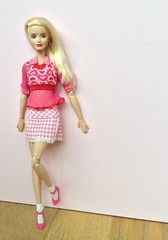 Valentine's Day inspired Barbie style! (Emilypm3) Tags: doll barbie skipperdoll fashionista dollclothes barbiestyle madetomove