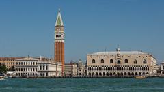 Piazza San Marco (Allen Castillo) Tags: venice italy outdoors belltower campanile grandcanal gondolas dogespalace piazzasanmarco nikon28300 nikond610
