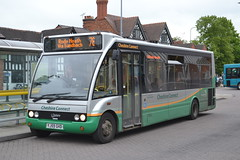 GHA Coaches 1325 YM52TPY (Will Swain) Tags: nantwich bus station 25th may 2016 cheshire north west south county buses transport travel uk britain vehicle vehicles country england english gha coaches 1325 ym52tpy wrexham chester city 366 dg crewe 22