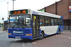 Hansons Local Bus 1540 KP54BZA (Will Swain) Tags: dudley bus station 26th may 2016 buses transport travel uk britain vehicle vehicles county country england english birmingham west midland midlands city centre hansons local 1540 kp54bza paul james leicester 47 premiere nottingham 3388