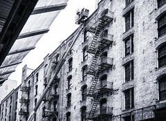 Chelsea (PAJ880) Tags: new york nyc bw chelsea crane manhattan warehouse lofts