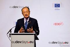 Jim Yong Kim, President of The World Bank Group - Brussels - European Development Days - 2016 (Durickas) Tags: edd edd2016 europeandevelopmentdays brussels tourtaxis jimyongkim presidentoftheworldbankgroup