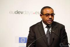 Hailemariam Desalegn Boshe, Prime Minister of Ethiopia - Brussels - European Development Days - 2016 (Durickas) Tags: edd edd2016 europeandevelopmentdays brussels tourtaxis hailemariamdesalegnboshe primeministerofethiopia