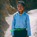 Nagarkot boy on the was to school