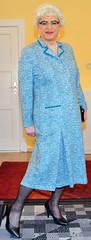 Ingrid022468 (ingrid_bach61) Tags: dress mature kleid pleatedskirt faltenrock