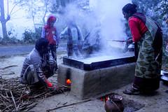 Winter life of Bangladeshi village (sobdokiron) Tags: winter boys fog village ngc cook suger villegers