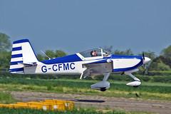 "G-CFMC Vans RV-9A  G-CFMC Flying Group Sturgate Fly In 05-06-16 (PlanecrazyUK) Tags: sturgate egcs ""fly in"" 050616 ""lincoln aero club ltd"" gcfmc vansrv9a gcfmcflyinggroup fly in"