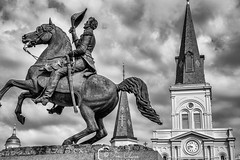 St Louis Cathedral, New Orleans (#Sunset Hunter#) Tags: historical new orleans visualart