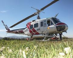 Bell UH-1H (Titanium Man) Tags: bell uh1h calfire n448df pradohelitack