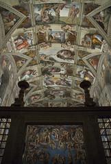 Cappella Sistina (Francesco Merini) Tags: roma vaticano michelangelo sistinechapel michelangelobuonarroti museivaticani sistina cittdelvaticano giudiziouniversale